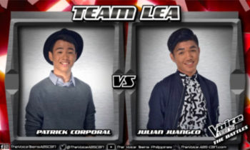 Watch: Julian vs Patrick 'Treat You Better' The Voice Teens Philippines Battles