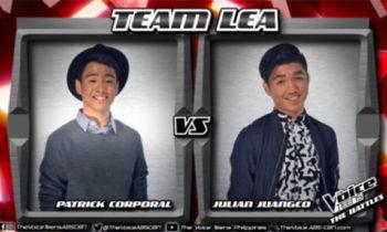 Watch: Julian vs Patrick 'Treat You Better' The Voice Teens Philippines Battles