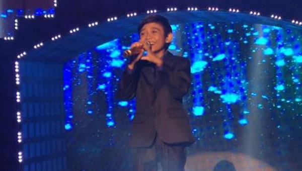 Kiefer Sanchez sings 'Shine' on Tawag Ng Tanghalan Kids Grand Finals