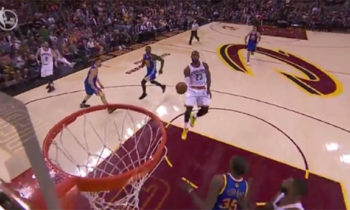Watch: LeBron James does a jaw-dropping Dunk on NBA Finals Game 4