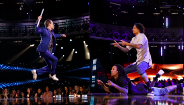 Les Twins duels with Kyle Van Newkirk on World of Dance
