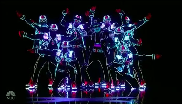 Light Balance gets Golden Buzzer from Tyra Banks on America's Got Talent 2017
