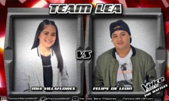 Watch: Mia vs Felipe 'Killing Me Softly' The Voice Teens Philippines Battles