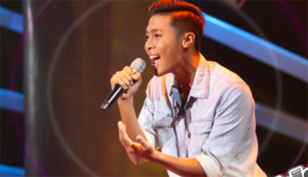Michael Comaling sing 'Baby I Like Your Style' on The Voice Teens Philippines Blind Auditions