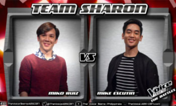 Watch: Mike vs Miko 'Perfect' The Voice Teens Philippines Battles