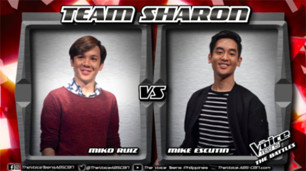 Mike vs Miko 'Perfect' The Voice Teens Philippines Battles