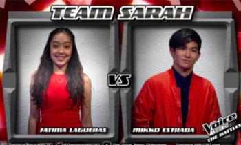 Watch: Mikko vs Fatima 'Ikaw Lamang' The Voice Teens Philippines Battles