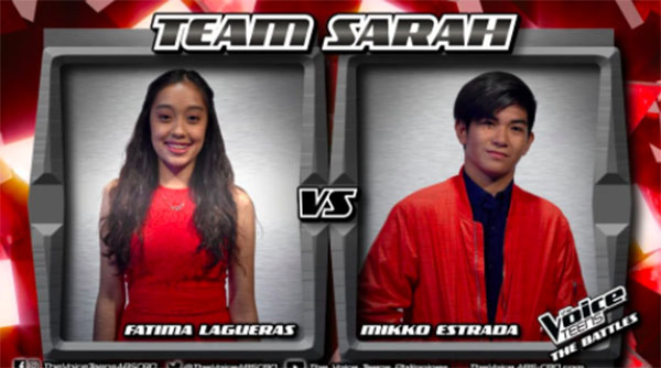 Mikko vs Fatima 'Ikaw Lamang' The Voice Teens Philippines Battles