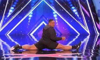 Oscar Hernandez dances to 'Anaconda' on America's Got Talent 2017