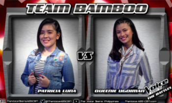Watch: Patricia vs Queenie 'Sound of Silence' The Voice Teens Philippines Battles