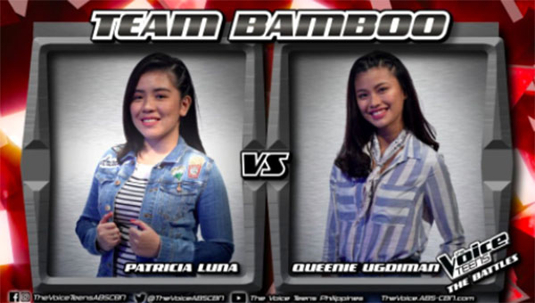 Patricia vs Queenie 'Sound of Silence' The Voice Teens Philippines Battles