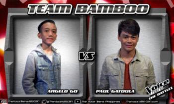 Watch: Paul vs Angelo 'Sinta' The Voice Teens Philippines Battles