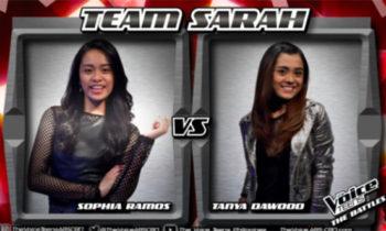 Watch: Sophia vs Tanya 'Since U Been Gone' The Voice Teens Philippines Battles
