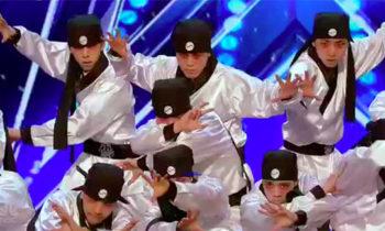 South Korean Just Jerk dance crew wows on America's Got Talent 2017