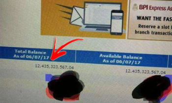 LOOK: Woman Becomes Instant Billionaire after BPI System Glitch