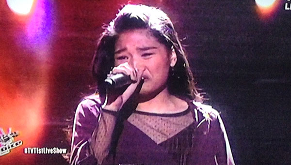 Alessandra Galvez sings 'The Way We Are' on The Voice Teens Philippines Live Shows