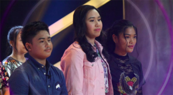 Alyssa vs Darryl vs Alessandra 'Team Sharon' The Voice Teens Philippines Knockout Rounds July 8