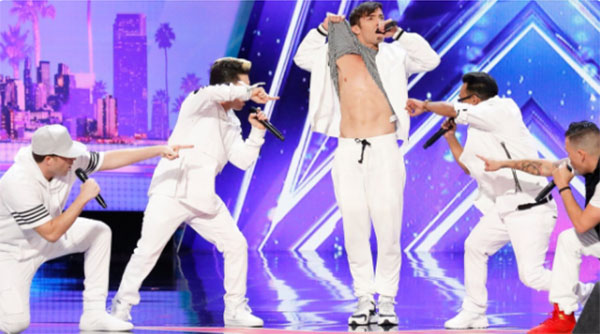 Boy band '5 Alive' wows judges on America's Got Talent 2017
