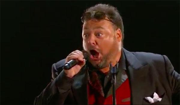 Carlos De Antoni sings 'O Sole Mio' on America's Got Talent 2017 Judge Cuts