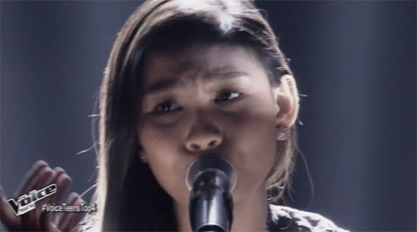 Christy Lagapa sings 'Don't Cry for Me Argentina' on The Voice Teens Philippines Semifinals
