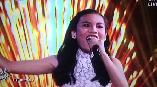 Christy Lagapa sings 'Shine' on The Voice Teens Philippines Live Shows