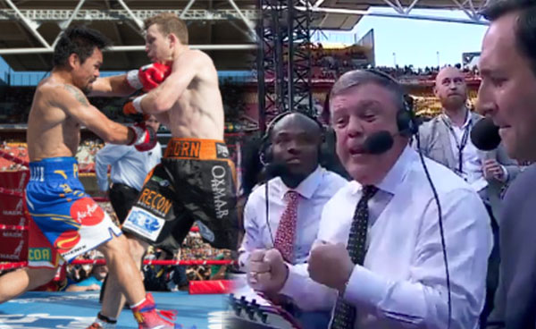 ESPN's Teddy Atlas went Furious over Pacquiao-Horn Boxing Results