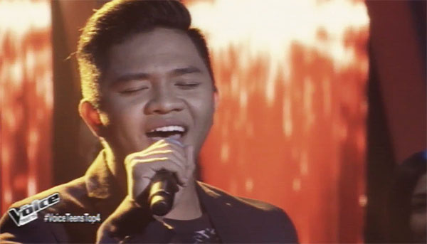WATCH: Emarjhun de Guzman sings 'Butterfly' on The Voice Teens Philippines Semifinals