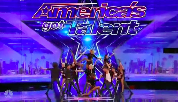 German Cornejo Dance Company impress on America's Got Talent 2017