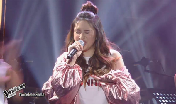 Isabela Vinzon sings 'Despacito' on The Voice Teens Philippines Grand Finals