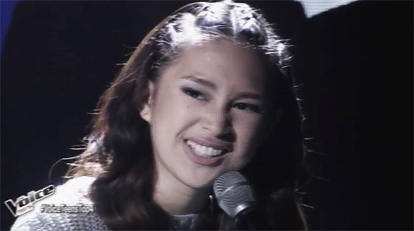 Isabela Vinzon sings 'You and I' on The Voice Teens Philippines Semifinals