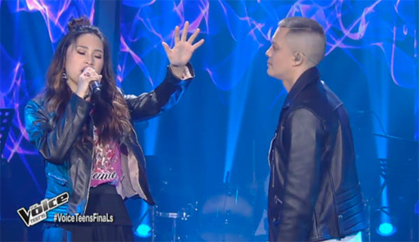 Isabela and Bamboo sings 'Kapayapaan' duet on The Voice Teens Philippines Grand Finals