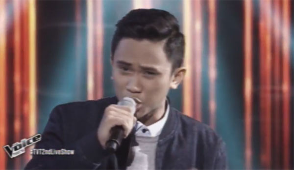 Ivan Navares sings 'Pagbigyang Muli' on The Voice Teens Philippines Live Shows