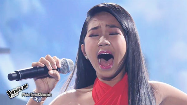 Jona Soquite sings 'I Believe I Can Fly' on The Voice Teens Philippines Grand Finals