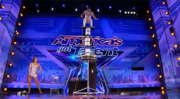 Jonathan Rinny brings judges to edge of their seat on America's Got Talent 2017