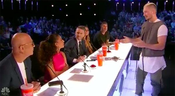 Magician Tom London impress judges on America's Got Talent 2017 judge Cuts