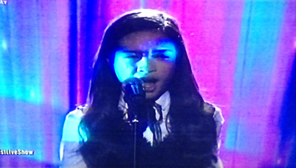 Mica Becerro sings 'Bridge Over Troubled Waters' on The Voice Teens Philippines Live Shows