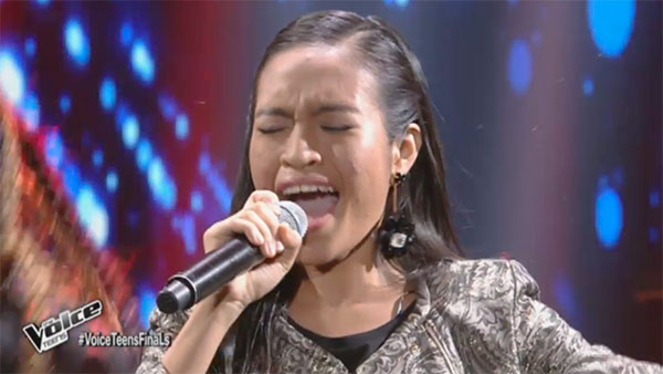Mica Becerro sings 'Diva Dance' on The Voice Teens Philippines Grand Finals
