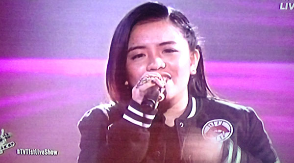 Patricia Luna sings 'Fix You' on The Voice Teens Philippines Live Shows