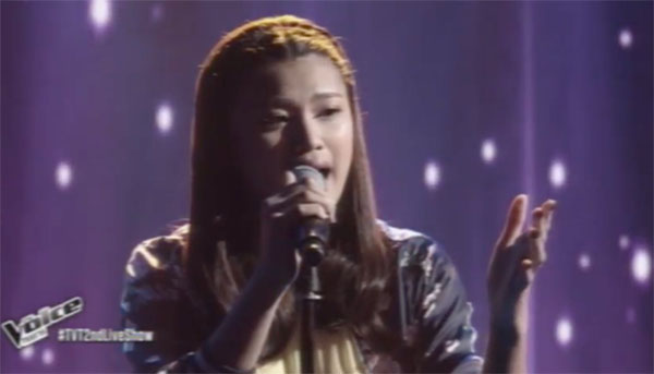 Queenie Ugdiman sings 'Itanong Mo Sa Mga Bata' on The Voice Teens Philippines Live Shows