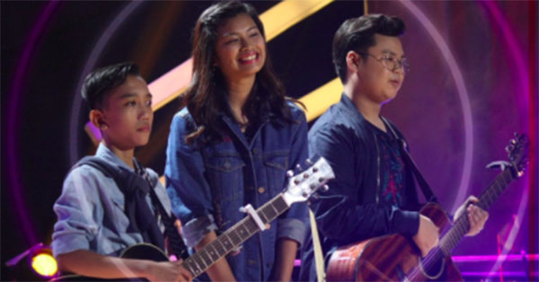 Queenie vs Angelo vs Jem 'Team Bamboo' The Voice Teens Philippines Knockout Rounds