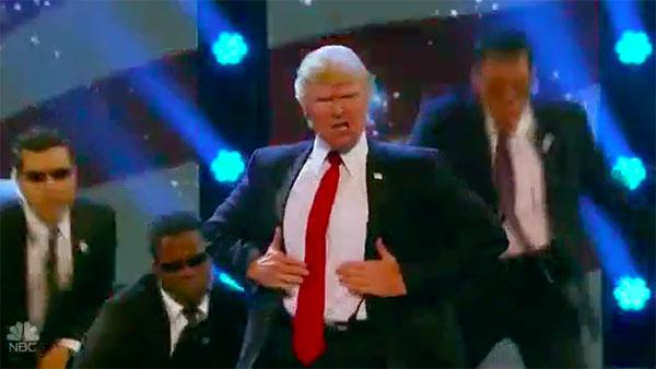 The Singing Trump does Backstreet Boys medley on America's Got Talent 2017 Judge Cuts