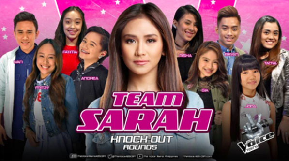 The Voice Teens Philippines Knockout Rounds 'Team Sarah' Videos and Results July 9