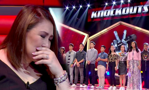 The Voice Teens Philippines Knockout Rounds 'Team Sharon' Videos and Results July 8