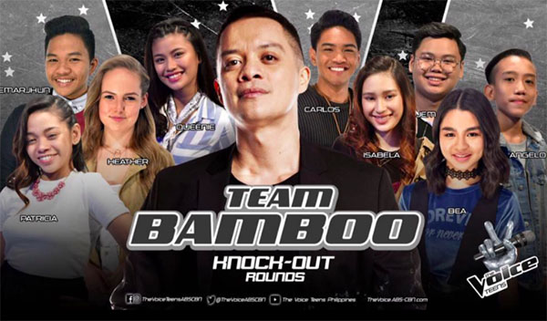 The Voice Teens Philippines Knockouts 'Team Bamboo' Results, Recap and Videos