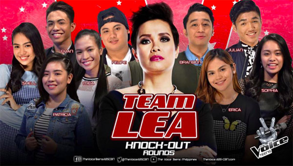 The Voice Teens Philippines Knockouts 'Team Lea' Results, Recap and Videos