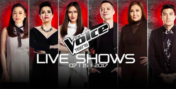 The Voice Teens Philippines 'Live Shows' July 15 Episode