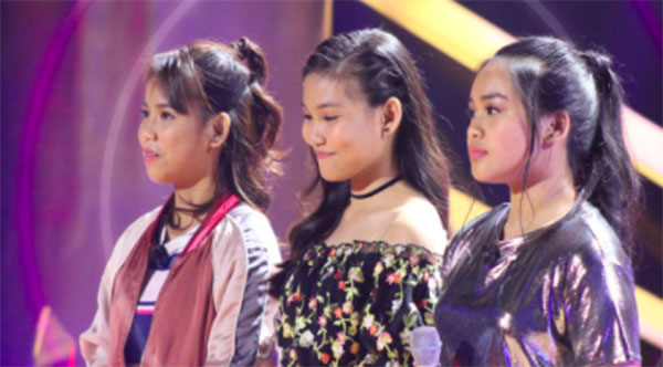 Watch: Arisxandra vs Christy vs Zyra 'Team Sharon' The Voice Teens Philippines Knockout Rounds