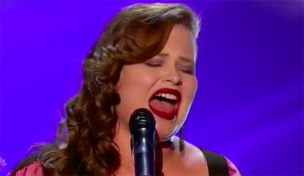 Yoli Mayor sings heartfelt 'Love on the Brain' cover on America's Got Talent 2017 Judge Cuts