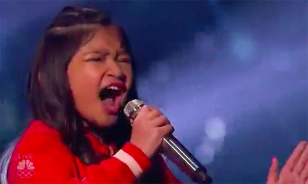 Angelica Hale sings 'Clarity' on America's Got Talent Live Shows