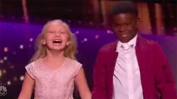 Artyon and Paige dances to 'Footloose' on America's Got Talent Live Shows
